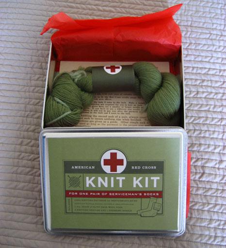Red Cross Knit Kit