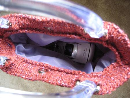 Girly Bag Inside