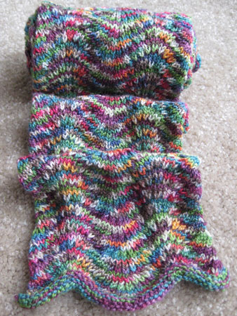 Chevron Scarf - PreBlocking