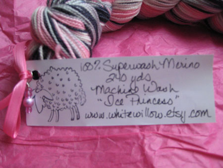 White Willow Yarn - Tag & Charm