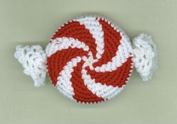Peppermint Swirl Tape Measure