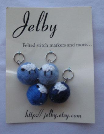 Jelby Stitch Markers