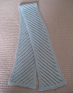 Diagonal Lace Scarf