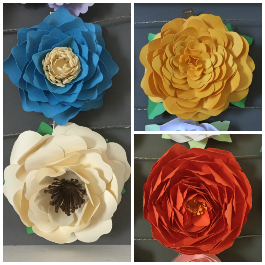 More 3D Flowers